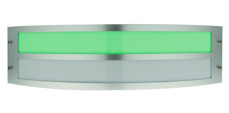 Curved Lamp (green)