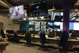IDS installed in master control room of BT Tower