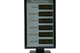 Configure IDS to display multiple timezones on one screen