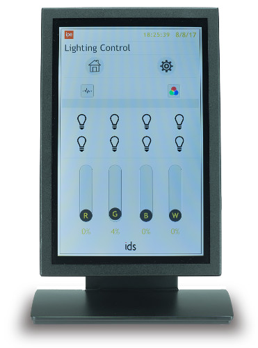 TS4 Touchscreen with Lighting Controls