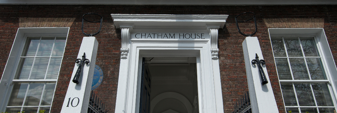 Doorway to Chatham House