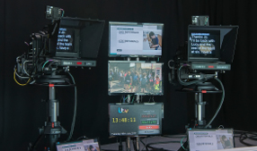 Autocue and screens
